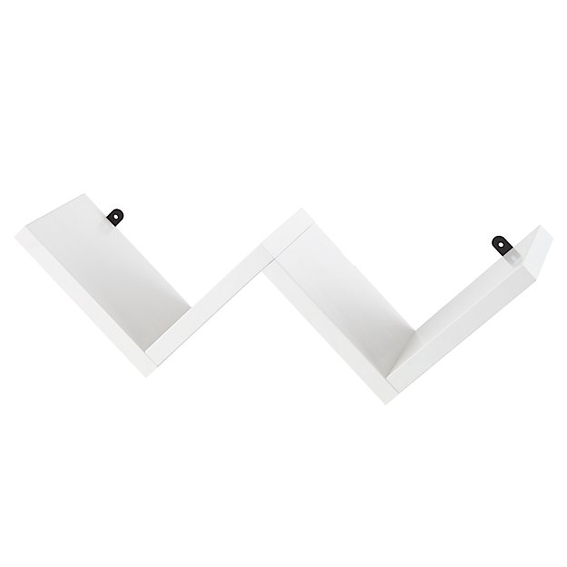 Origami Wall Shelf (White)