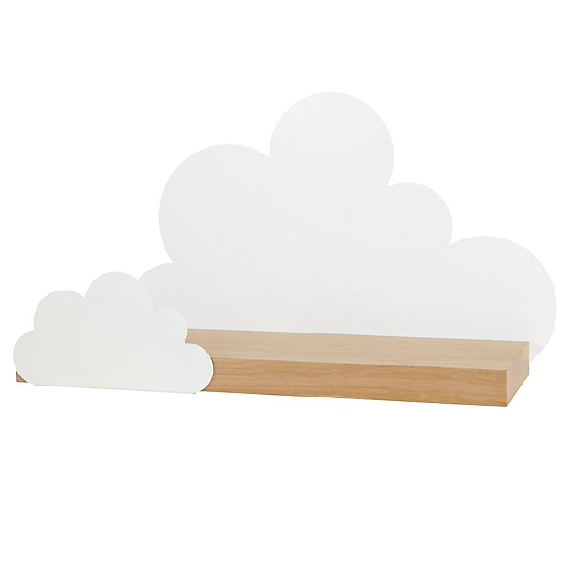 Overcast Cloud Wall Shelf