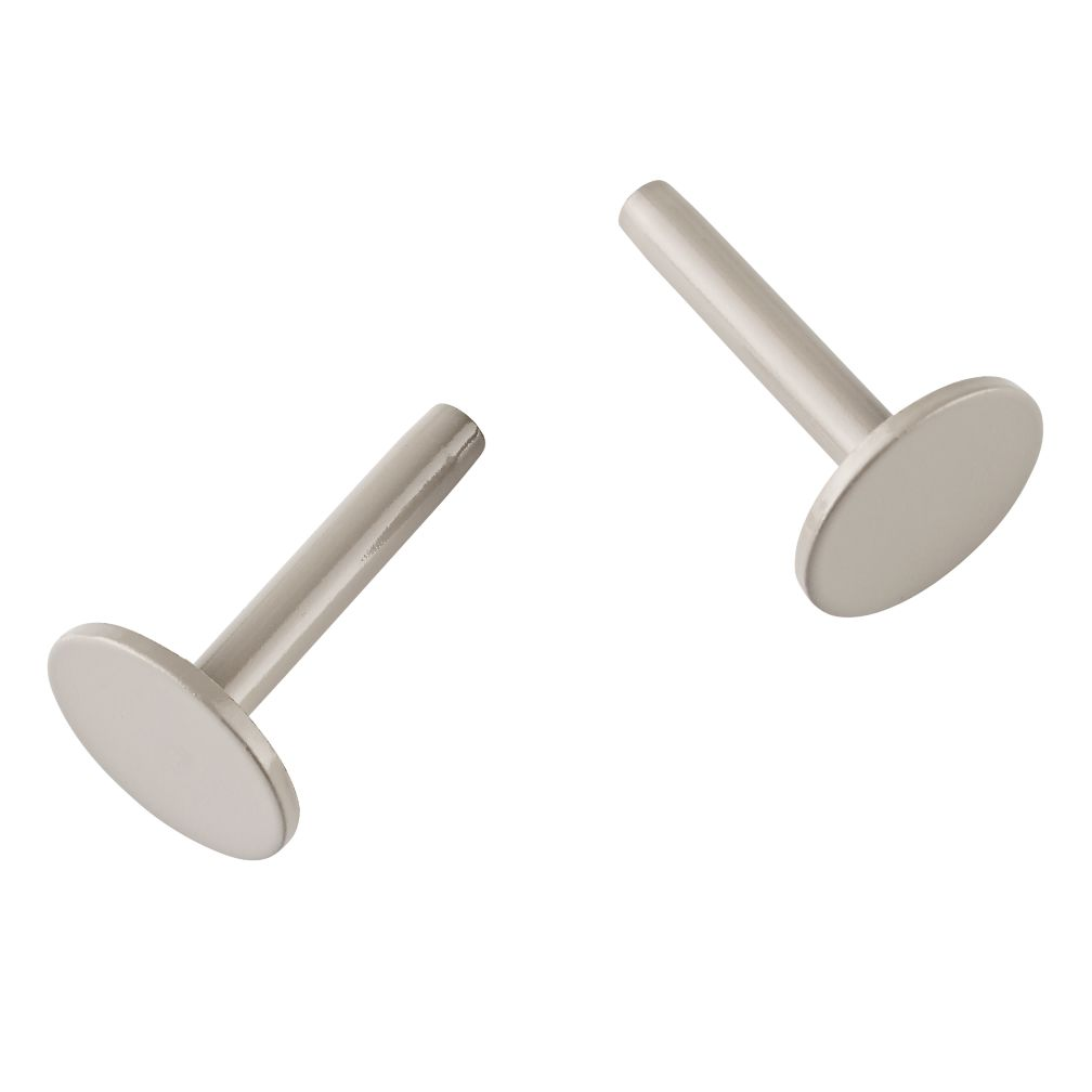 Set of 2 On the Pegboard Pegs (Grey)