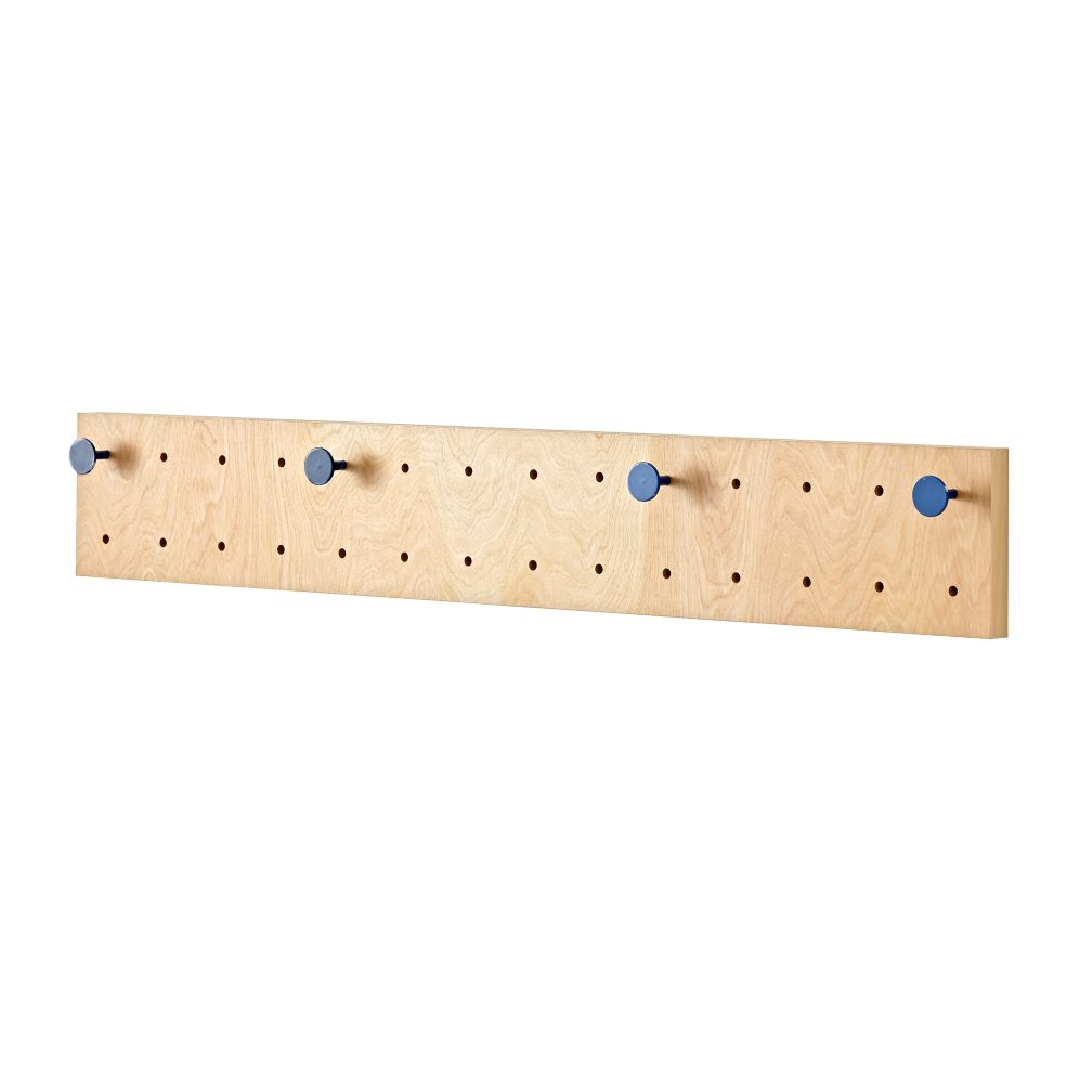 Long Pegboard With 4 Blue Pegs