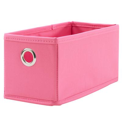 I Think I Canvas Narrow Drawer (Pink)