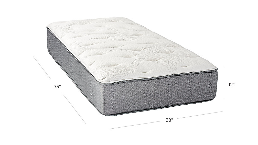 Simmons Beautysleep Deluxe Plush Twin Mattress The Land Of Nod