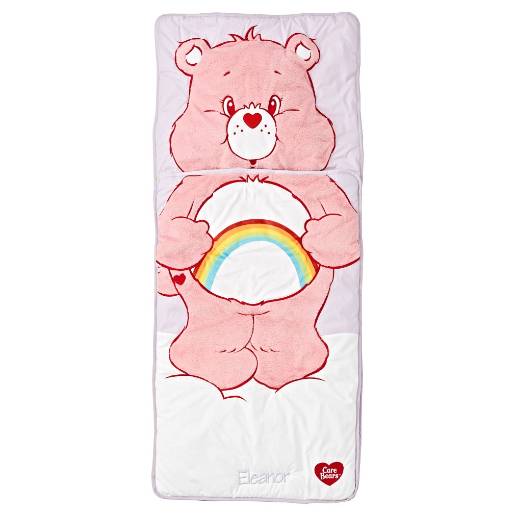 care bears cheer personalized toddler sleeping bag