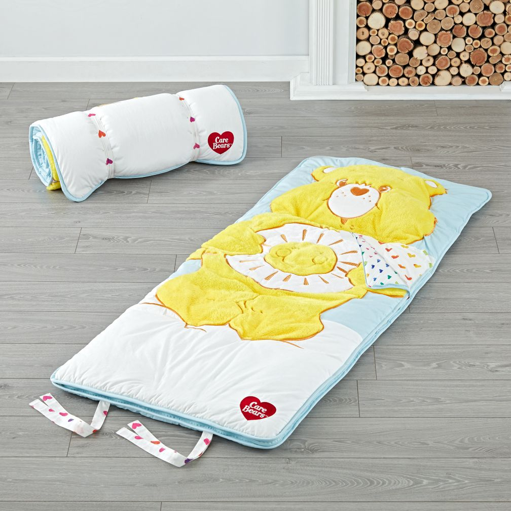 Care Bears Funshine Bear Toddler Sleeping Bag