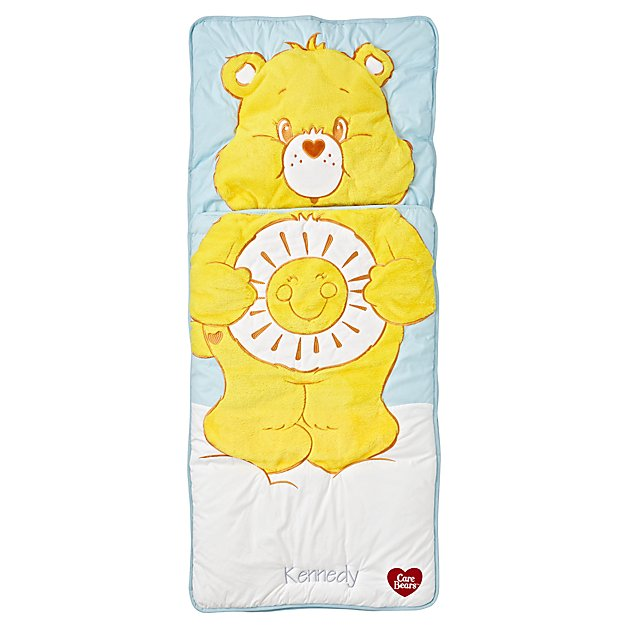 Care Bears Funshine Bear Personalized Sleeping Bag