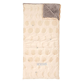 Celestial Personalized Pink Sleeping Bag