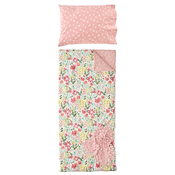 Garden Bed Sleeping Bag and Pillowcase