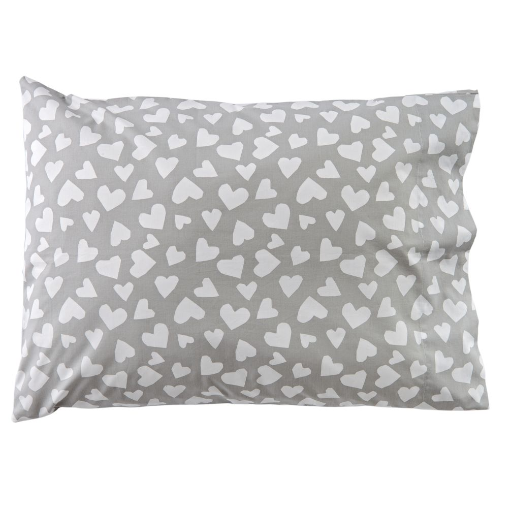 Hearts and Stripes Pillowcase