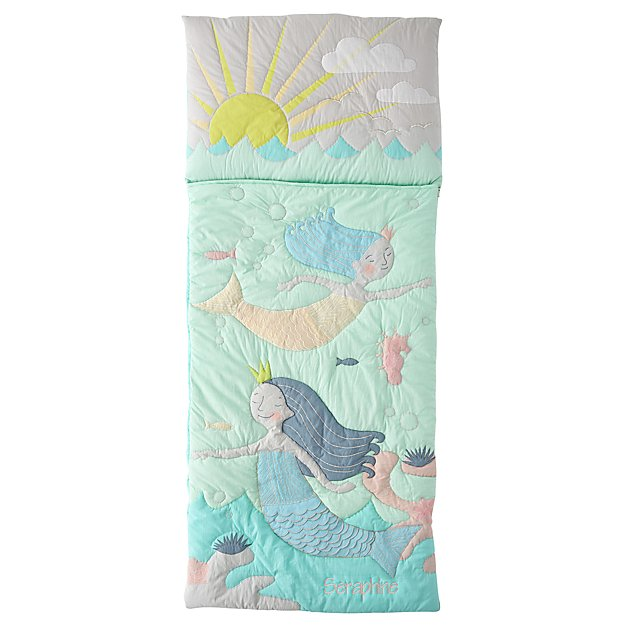 Mermaid Myth Personalized Toddler Sleeping Bag
