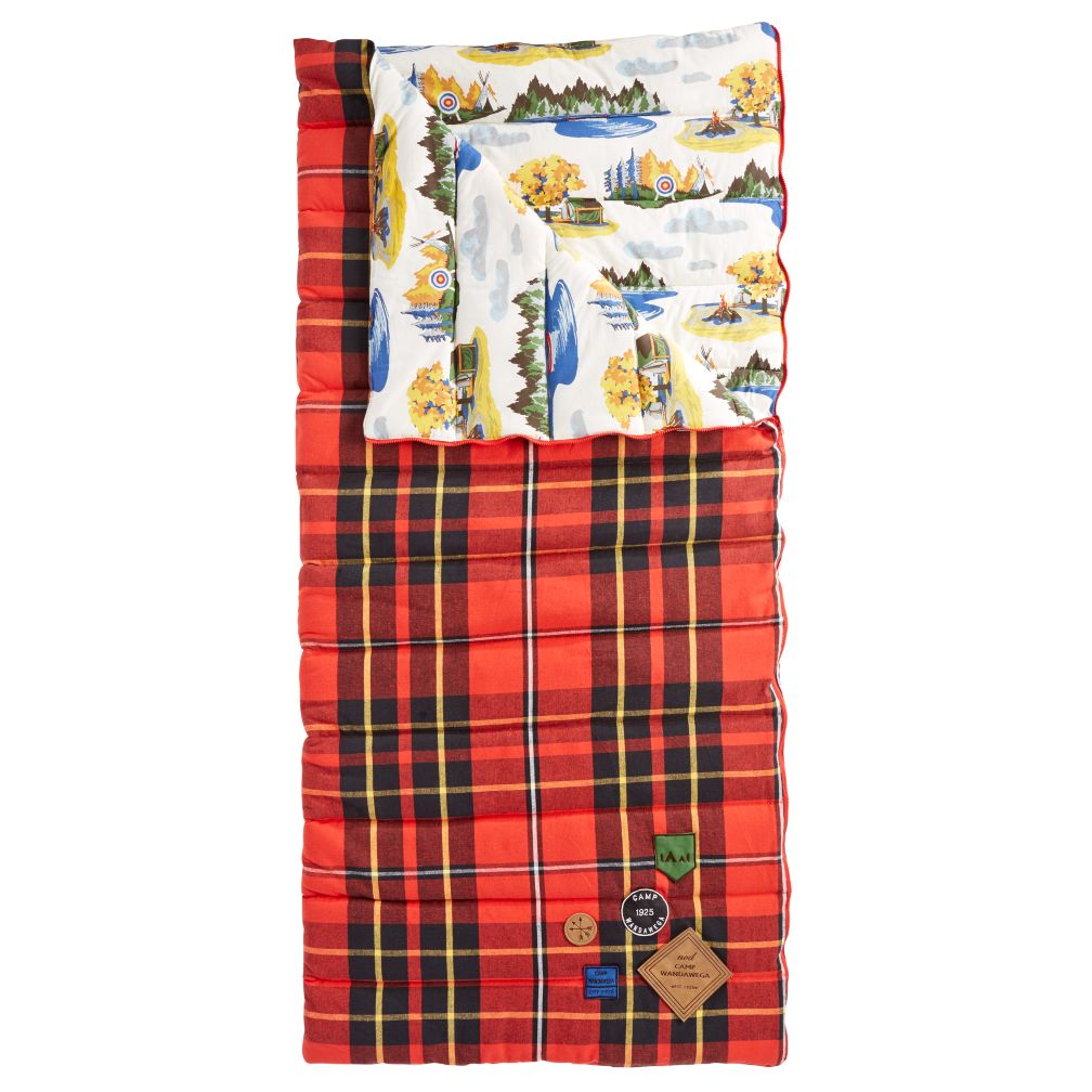 Plaid Sleeping Bag The Land Of Nod