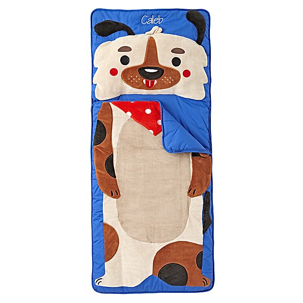 Wild Puppy Personalized Toddler Sleeping Bag