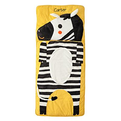 Wild Zebra Personalized Sleeping Bag