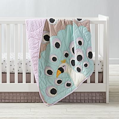 Peacock Baby Quilt