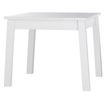 Anywhere Square White Kids Table