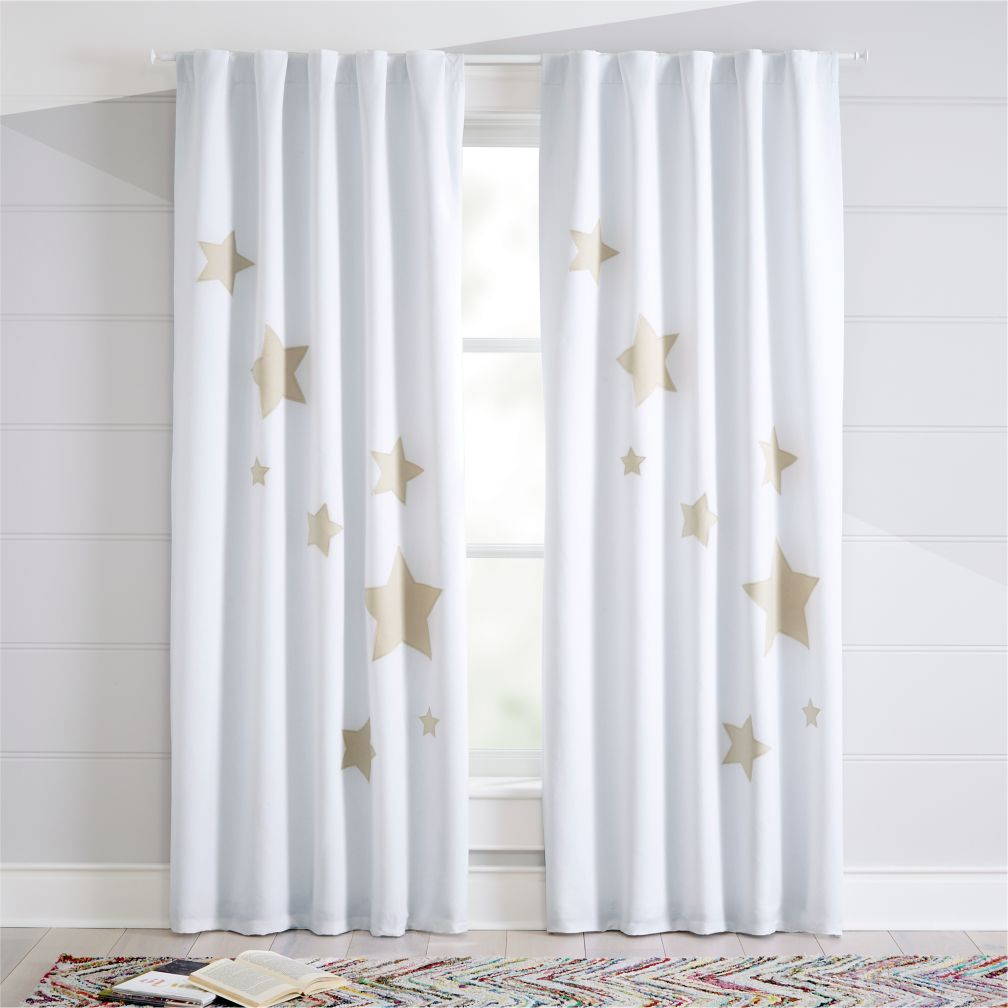 Nursery curtain blackout blinds curtains baby room for Drapes over crib