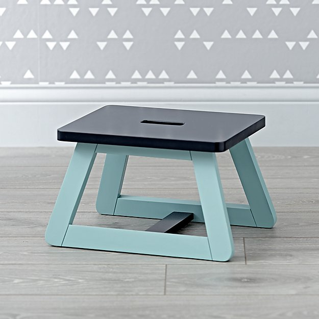 Gage Blue Step Stool