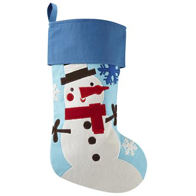 Holiday Cheer Stocking (Snowman)