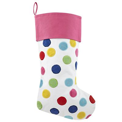 Confetti Stocking (Pink)