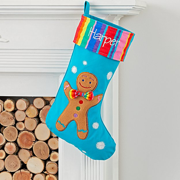 Dylan's Candy Bar Personalized Gingerbread Man Stocking