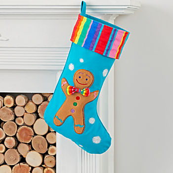Dylan's Candy Bar Gingerbread Man Stocking