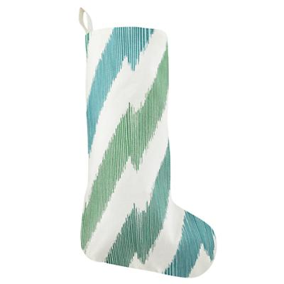 Zig Zag Stocking (Green)
