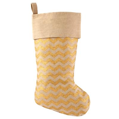 Golden Age Stocking (Zig Zag)