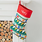Good Cheer Personalized Red Stocking