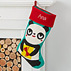 Merry Mascot Personalized Panda Stocking