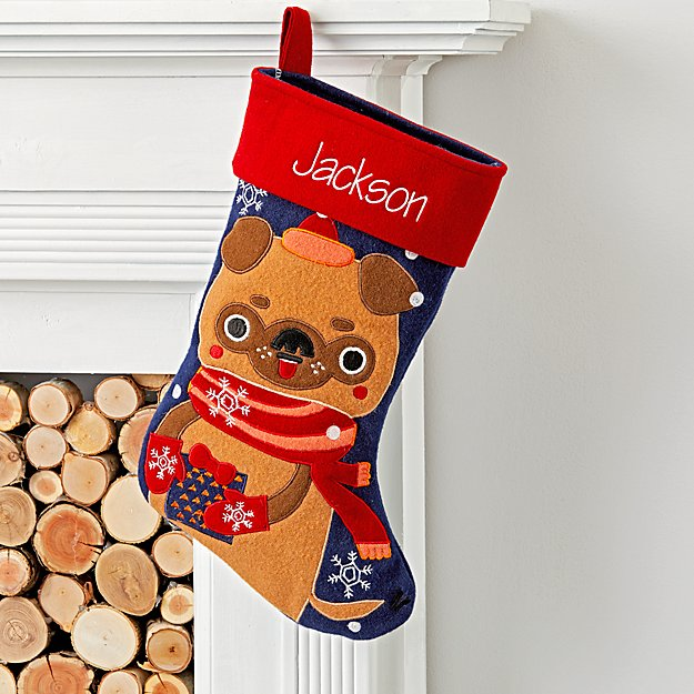 Merry Mascot Personalized Puppy Stocking