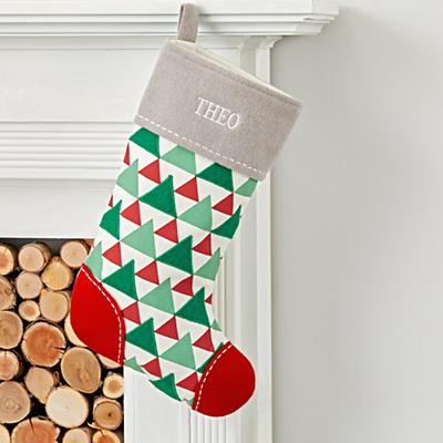 Stocking_Merry_Modern_Tree
