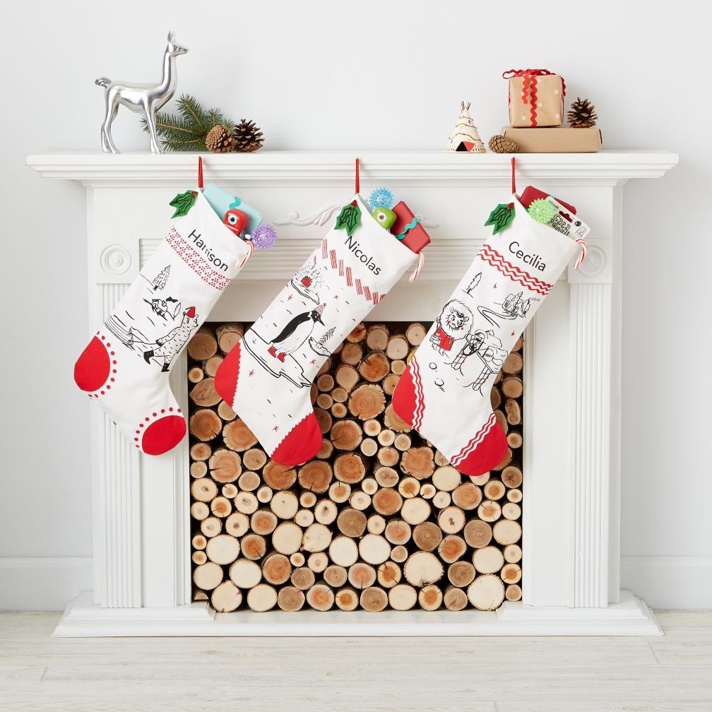 Yuletide Spirit Stocking Collection