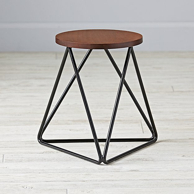 Eric Trine Linear Black Stool
