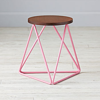 Eric Trine Linear Pink Stool