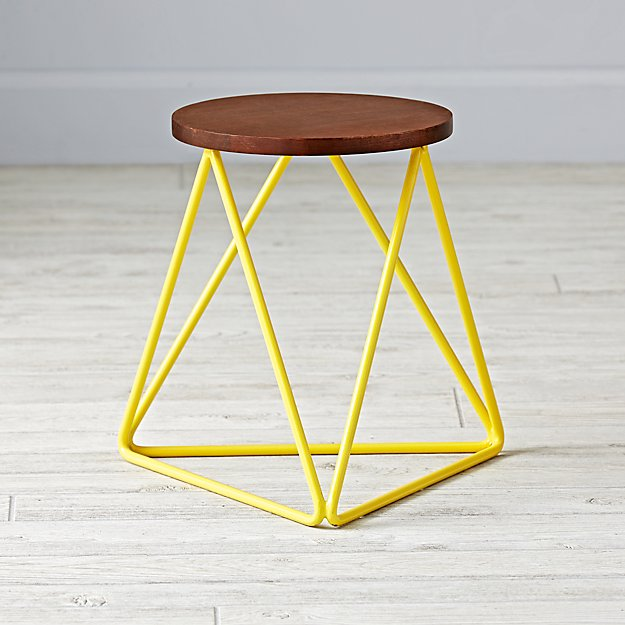 Eric Trine Linear Yellow Stool