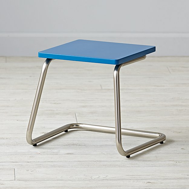 Outline Stool (Blue)