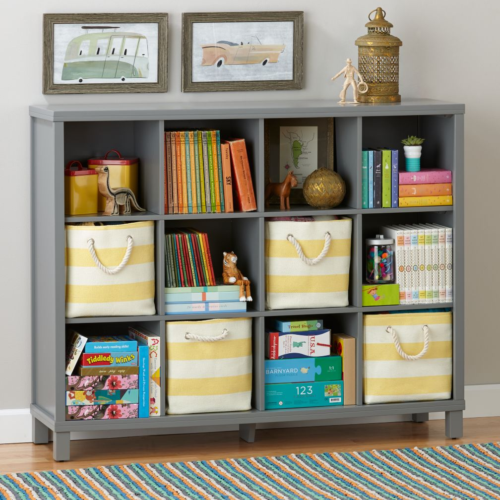 Kids bookcases bookshelves the land of nod for Book shelf for kids room