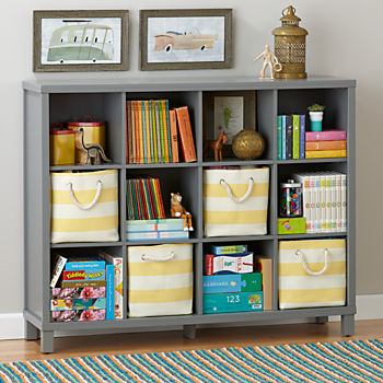 cubic bookcase grey 12cube