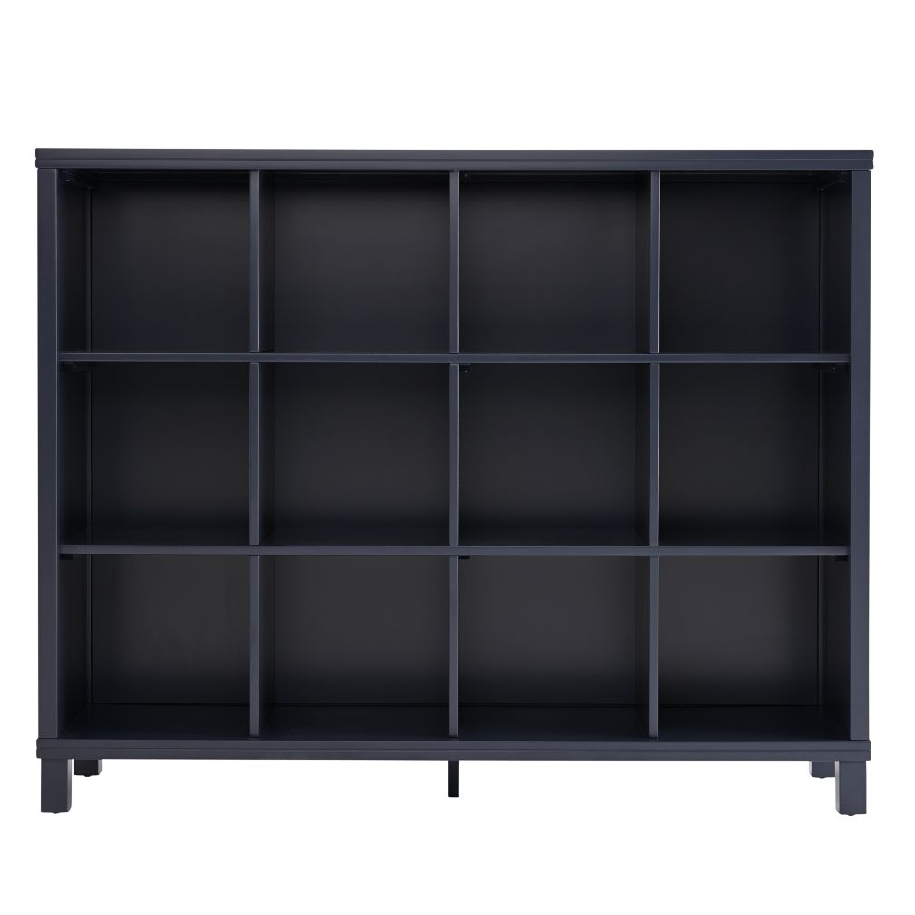 Cubic Tall Bookcase (Midnight Blue, 12-Cube)
