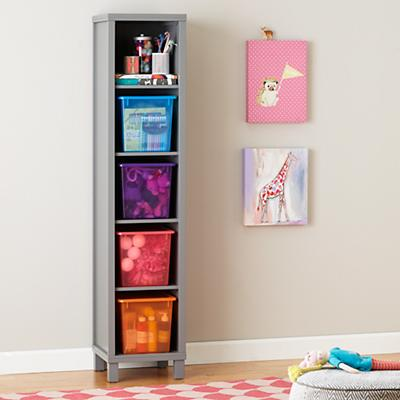 Cubic Bookcase (Grey, 5-Cube)