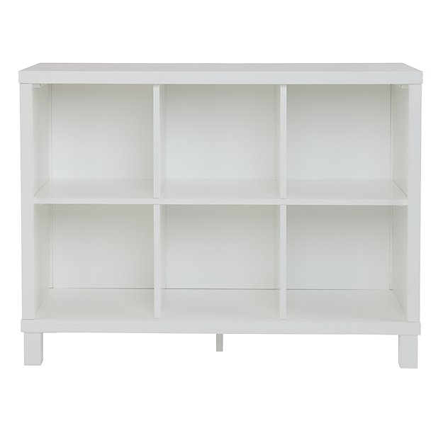 Cubic Wide Bookcase (6-Cube) ... - Cubic Wide Bookcase (6-Cube) The Land Of Nod