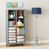 Cubic Bookcase (Grey, 8-Cube)