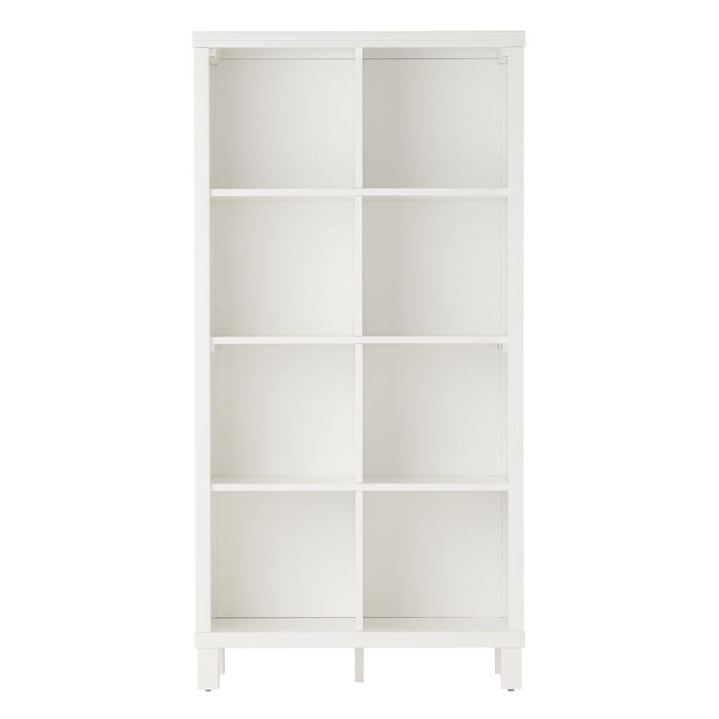 cubic tall bookcase 8 cube the land of nod. Black Bedroom Furniture Sets. Home Design Ideas