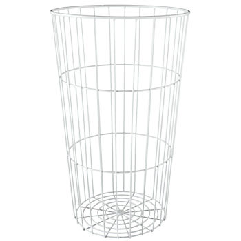 Flea Market Wire Ball Bin (White)