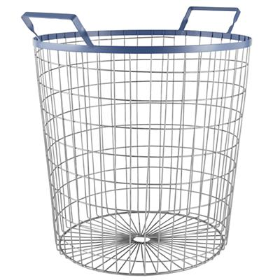 Wired World Floor Bin (Blue)