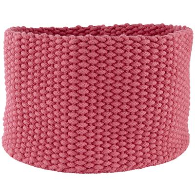 Large Kneatly Knit Rope Bin (Pink)