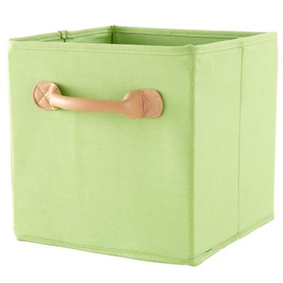 We're Not Just Canvas Anymore Cube Bin (Green)