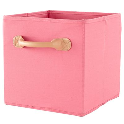 We're Not Just Canvas Anymore Cube Bin (Pink)