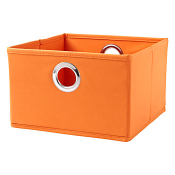 I Think I Canvas Bright Orange Wide Drawer
