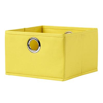I Think I Canvas Yellow Wide Drawer