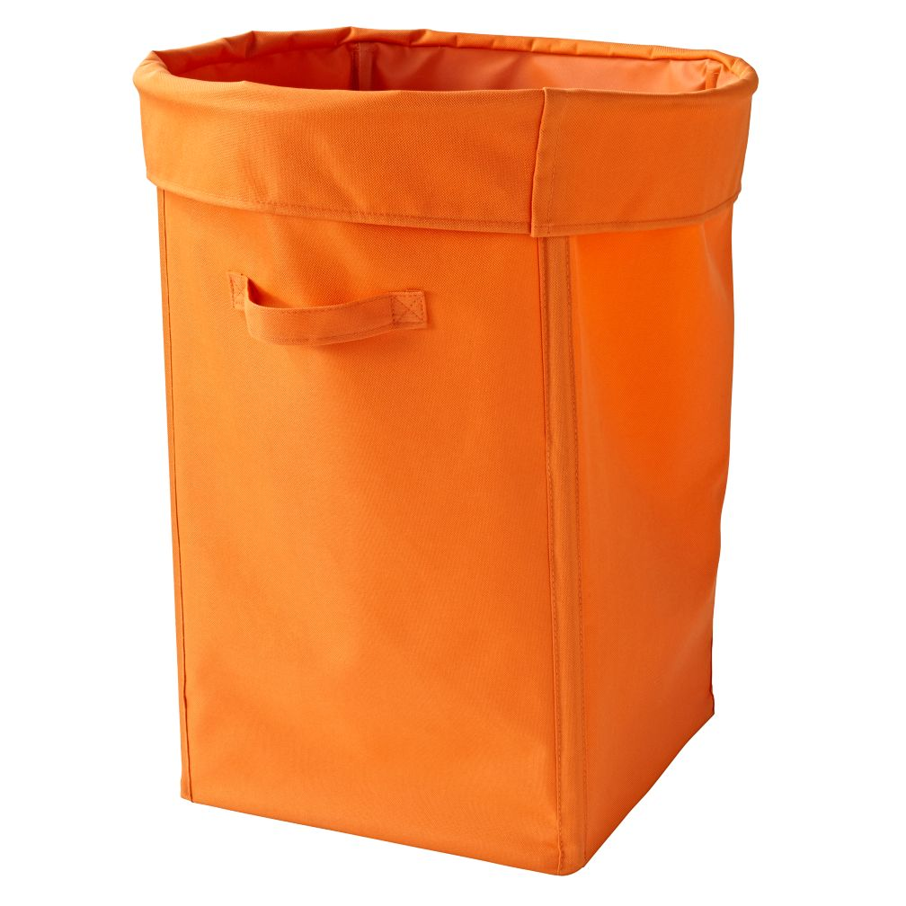 I Think I Canvas Bright Orange Hamper